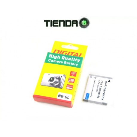NB-6L Batería Alternativa para S90 S95 SX270H, etc