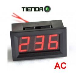 Voltímetro Para Embutir AC, 60 a 500VAC