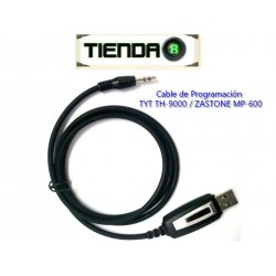 Cable de Programación Para TYT TH-9000, ZASTONE MP-600