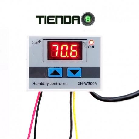 Controlador Digital De Humedad Del Aire XH-W3005