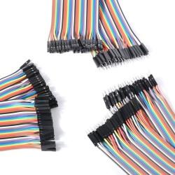 Kit de 120 Cables Dupont Para Proyectos Arduino, Raspberry, Etc