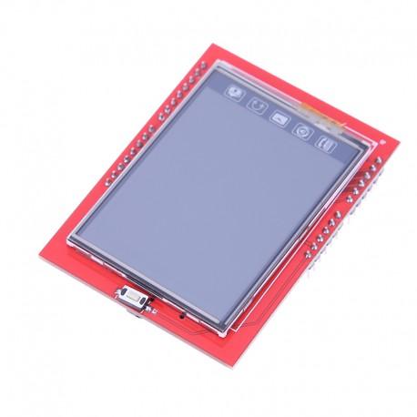 Pantalla Touch 2.4 TFT Display con Slot Micro SD, Para Arduino