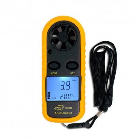 Anemómetro Digital con Termómetro GM816