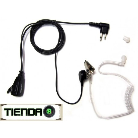 Micrófono Audífono Con Tubo Acústico Para Ep-450 Y Otras!
