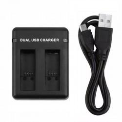 Cargador Dual Para Baterías AHDBT-501 Gopro 5