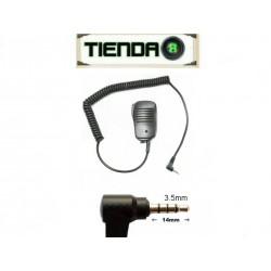 Micrófono Parlante Yaesu Vertex VX-3R, VX-160, FT-60R