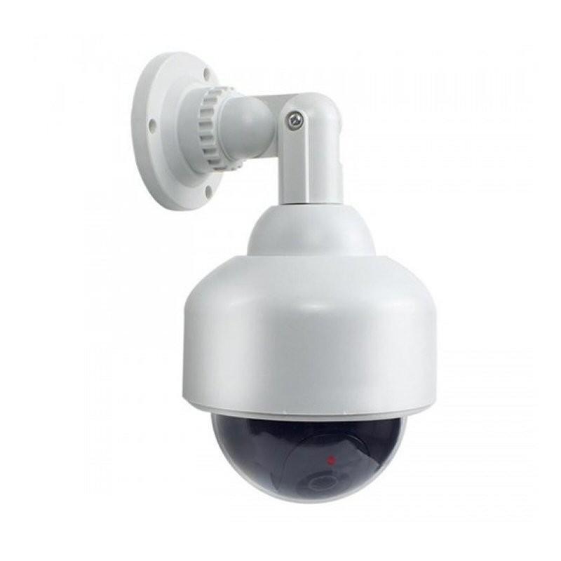 C mara domo de seguridad falsa con luz intermitente tienda8 - Camaras de seguridad falsas ...