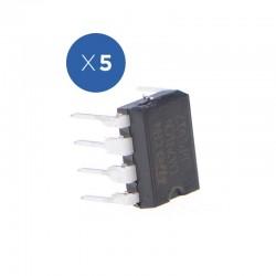 Pack de Amplificadores Operacionales 741, 5 Unidades