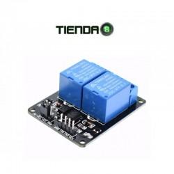 Módulo Relé 2 Canales Para Arduino, Raspberry, Pic