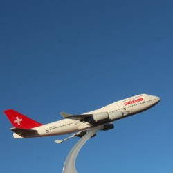 Boeing 747, Swissair, Escala 1:500