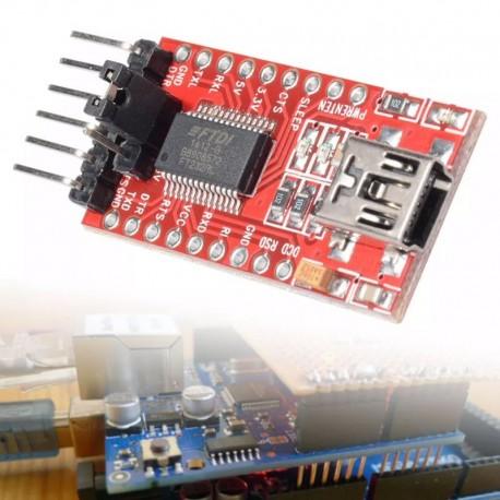 Adaptador USB Serial TTL Ft232 FTDI 5.5V y 3.3V Arduino