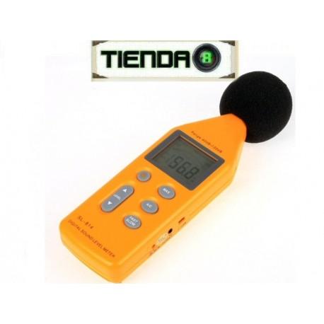 Medidor De Nivel De Sonido Digital Sonómetro SL-814