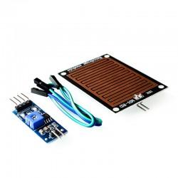Modulo Sensor De Lluvia Para Arduino, Pic, Domótica, Etc