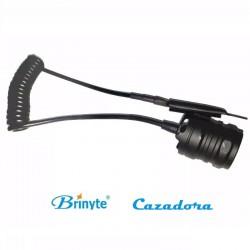 Switch De Presión Remoto Para Linterna Brinyte B58, B58U y B158