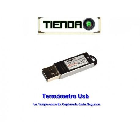Termómetro Usb Capturador de Temperatura