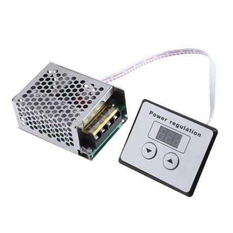 Regulador De Voltaje AC, SCR Tiristor, Controlador Digital, 4000W