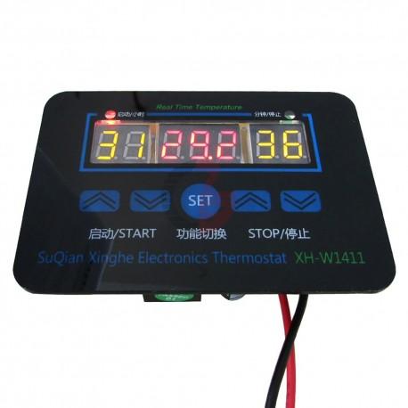 Control de Temperatura ON/OFF XH-W1411 Termostato/Incubadora