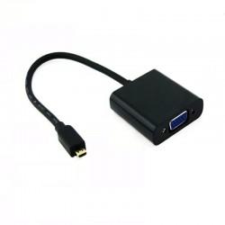 Adaptador Micro Hdmi a Vga Para Cámaras, Tablet, Etc