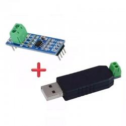 MAX485 Modulo TTL A Convertidor RS485 + Interfaz USB CH340