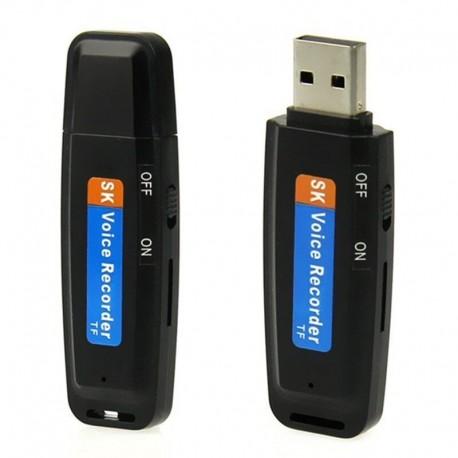 Grabadora Pendrive Audio Espía, Discreto, Soporta 32GB