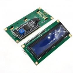 Pantalla Display Arduino 16x2 1602, Incluye Interfaz I2C