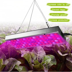 Panel Full Espectro Cultivo Indoor 25W Grow, 75 Led