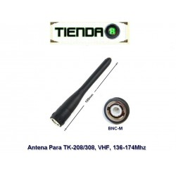 Antena VHF Para Kenwood BNC-M, TH-22AT, TK-208/308