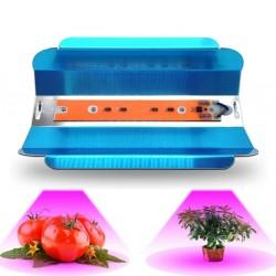 Panel Reflector Full Espectro Cultivo Indoor 50W Grow, Cob Led