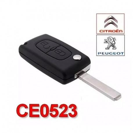Carcasa Llave Peugeot 207 307 308 407 CE0523