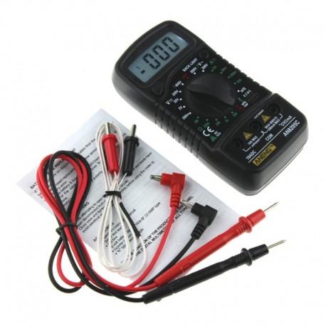 Multímetro Digital Profesional AN8205C Mide Temperatura