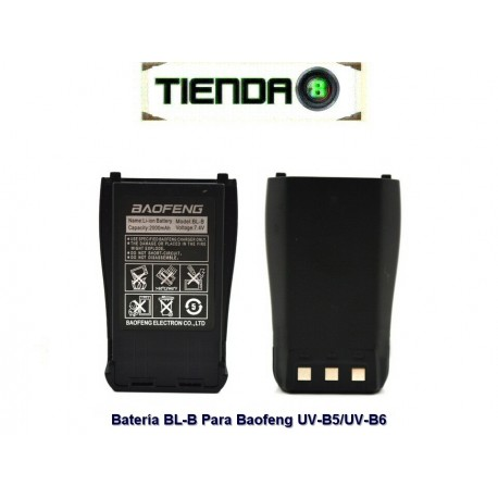 Batería Original BL-B para Baofeng UV-B5, UV-B6