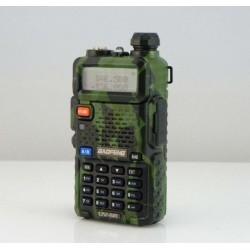 Radio Dual Banda UV-5R Baofeng - Carcasa Militar