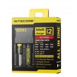 Cargador Nitecore Intellicharger I2, Carga Todo Tipo de Baterías