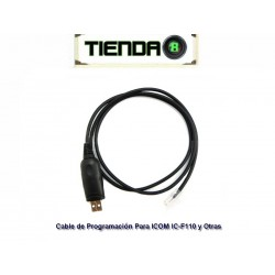 Cable Rib de Programación USB-RJ45 for ICOM IC-F110 y Otras