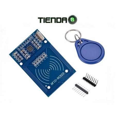 Módulo RFID RC522 + Tarjeta + Llavero Arduino