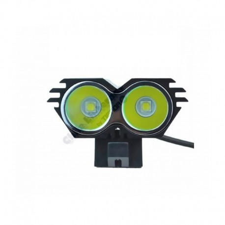 Linterna X2 Para Bicicletas, 2 Cree XM-L U3, 800 Lúm Reales!