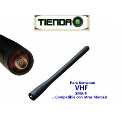 Antena VHF Para Kenwood Puerto SMA-F, Tk-2302 Y Otras Radios