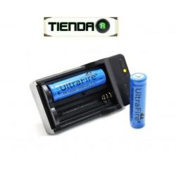 Cargador de Pared para Baterias de Litio 14500, 3.7v