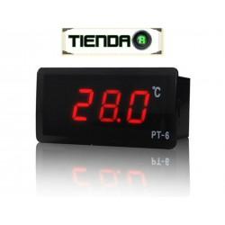Termómetro Digital PT-6, Rango de medida -40 a +110 ºC