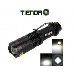 Linterna con Zoom Sipik SK-98 - 800 Lúmenes
