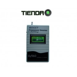 Frecuencímetro Digital Portatil Gooit Gy-560 50 Mhz ~ 2.4 Ghz