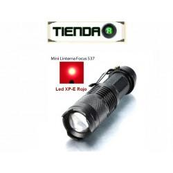 Pequeña Linterna Roja con Zoom, Modelo 537