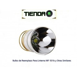 Bulbo Para Linterna WF-501b Led Cree XM-L T6, 5 Modos
