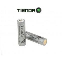 Bateria de Litio 14500 Gris, 3.7v con Protección PCB