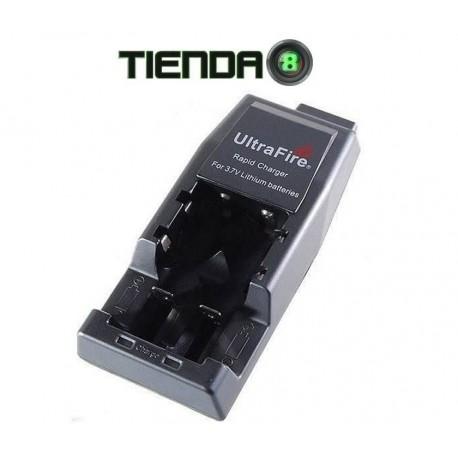 Cargador Ultrafire W-139 Para Baterías Li-Ion de Varios Tipos