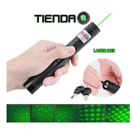 Laser 303 Verde con Caleidoscopio - 200mW