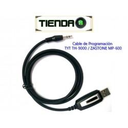 Cable de Programación Para TYT TH-9000, ZASTONE MP-600