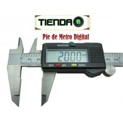 Pie de Metro Digital - 150mm / 6 Pulgadas - 0.01mm Mínimo