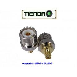 Adaptador Para Antena SMA-F a SO-239