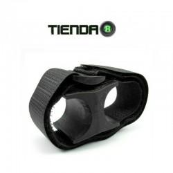 Montura Universal de Goma con Velcro Para Tubos de 25mm